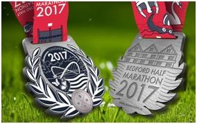 Medals Bedford Half 2017