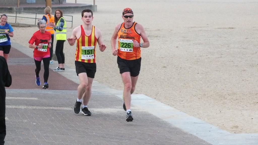 Me & Rory running